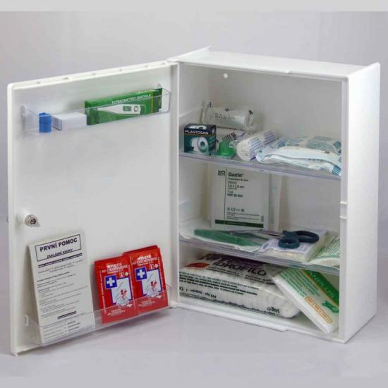 Plastová lékárnička LP s náplní KANCELÁŘ