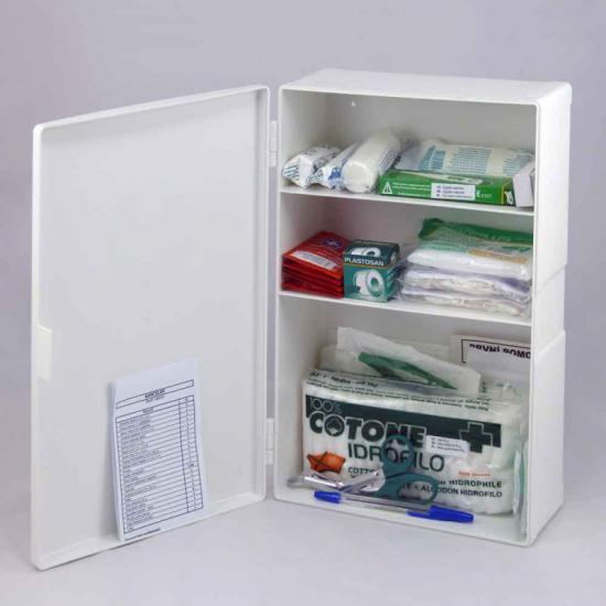 Plastová lékárnička malá s náplní KANCELÁŘ