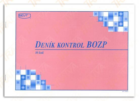 Deník kontrol BOZP
