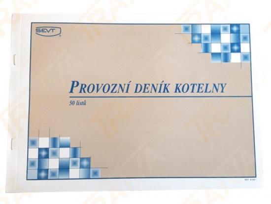 Provozní deník kotelny