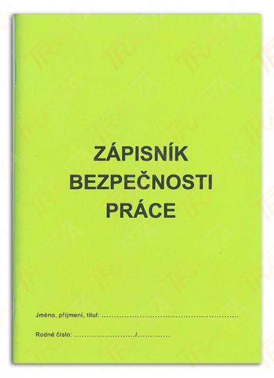 Zápisník bezpečnosti práce