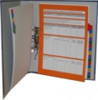 Záznamník bezpečnosti práce - záznamový list A4