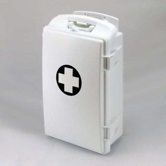 Přenosná lékárnička bílá - bez náplně