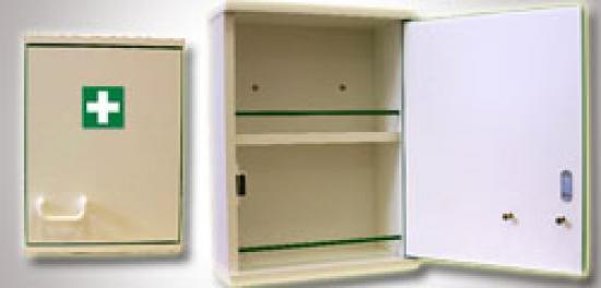 Závěsná lékárnička DL 200 bez vybavení