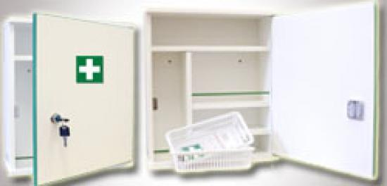 Závěsná lékárnička LD460 bez vybavení