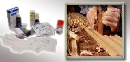 Výbava lékárničky na pracovišti - Stolárna, Obráběcí dílna