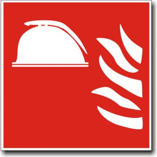 Požární zbrojnice (symbol) - Samolepka