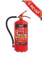 Práškový hasicí přístroj 6kg s kontrolou - (43A/233B/C)