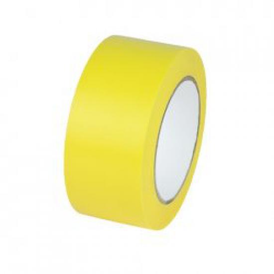 TEMKA Podlahová páska vyznačovací  ŽLUTÁ 33mx50mm