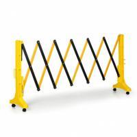 Skládací plastová zábrana žluto/černá 3,5m