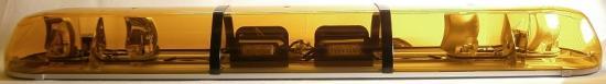 Kombinovaná majáková rampa Titan oranžová 122cm, 4 rotační moduly
