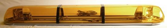 Halogenová majáková rampa Titan oranžová 122cm, 2 moduly