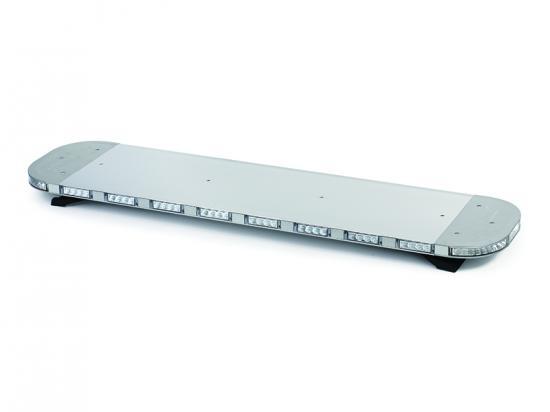 LED majáková rampa modrá 120cm, 12/24V