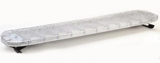 LED majáková rampa oranžová 120 cm, 12/24V