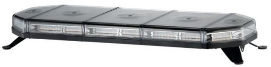 LED majáková rampa Slim modrá 92cm, 12/24V