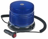 LED maják modrý 12/24V magnetický
