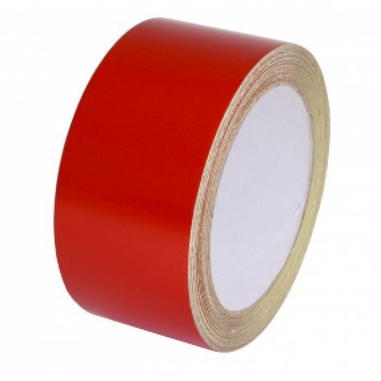 Samolepící páska - reflexní červená 15mx50mm