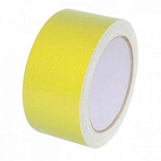 Samolepící páska - reflexní žlutá 15mx50mm