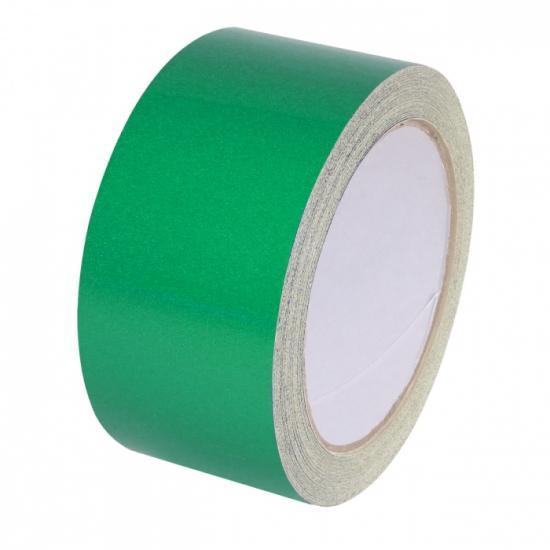 Samolepící páska - reflexní zelená 15mx50mm