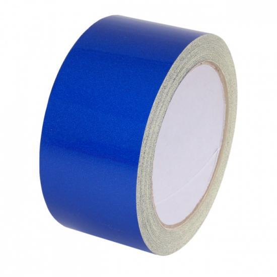 Samolepící páska - reflexní modrá 15mx50mm