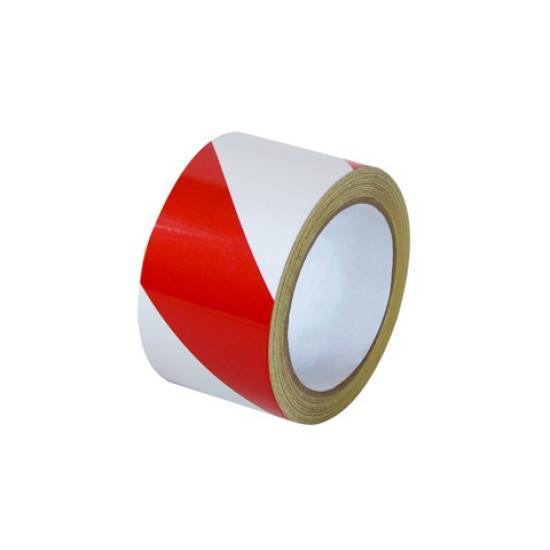 Samolepící páska - reflexní červeno/bílá 5cm P