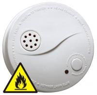 Požární hlásič a detektor kouře HOME