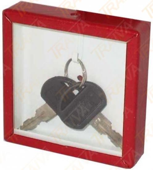 Požární krabička na klíče - kovová neuzamykatelná