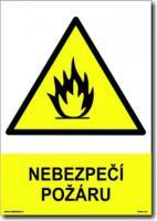 Nebezpečí požáru (A5) - Plast
