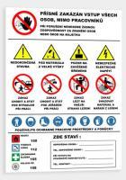 Bezpečnostní tabule banner-STAVBA