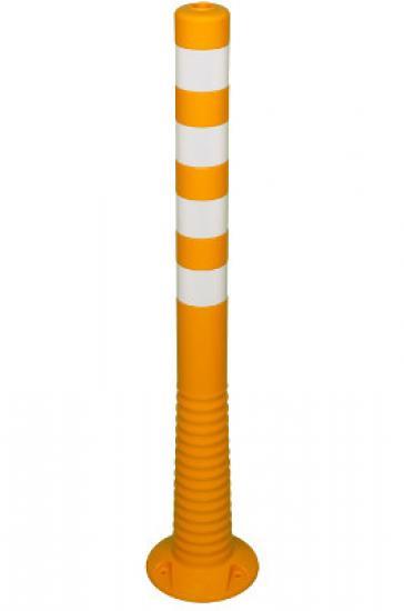Flexibilní sloupek - žluto-bílý (1000 mm)