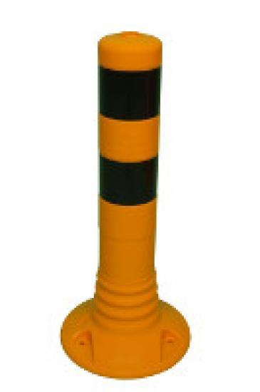 Flexibilní sloupek - žluto-černý (450 mm)
