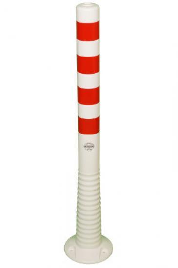 Flexibilní sloupek vymezovací  bílo-červený (1000 mm)