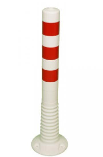 Flexibilní sloupek vymezovací bílo-červený (750 mm)
