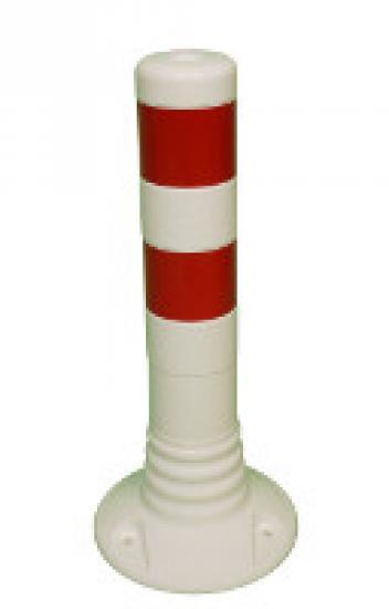 Flexibilní sloupek vymezovací bílo-červený (450 mm)