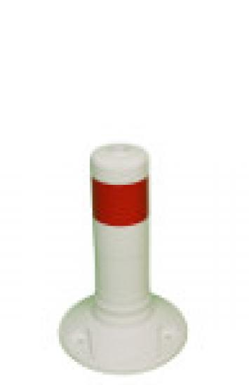 Flexibilní sloupek vymezovací bílo-červený (300 mm)