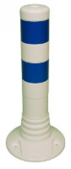 Flexibilní sloupek vymezovací bílo-modrý (450 mm)