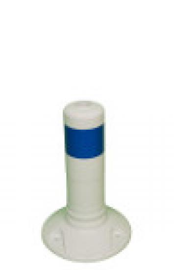 Flexibilní sloupek vymezovací  bílo-modrý (300 mm)