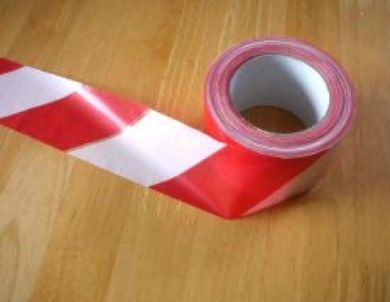 Ohraničovací páska červeno/bílá 200 m