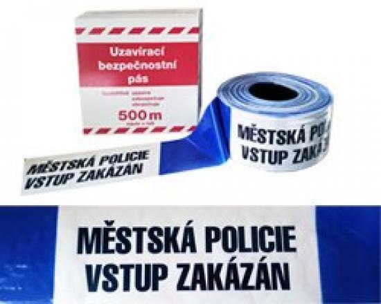 Ohraničovací páska MĚSTSKÁ POLICIE 500m