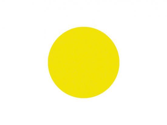 Kruh samolepící - žlutý protiskluzový 5-10cm