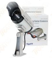 Atrapa kamery se solárním panelem Signus AS 4 Solar