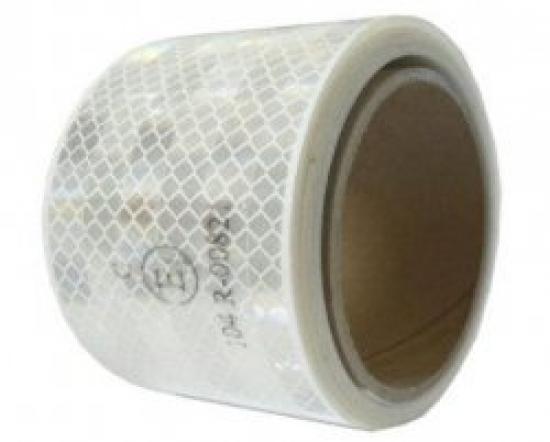 Reflexní páska BÍLÁ pro pevný povrch