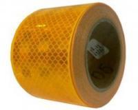 Reflexní páska ŽLUTÁ  pro pevný povrch