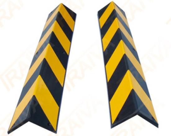 Výstražný profil na rohy - žluto-černý (2m)