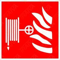 Označení požární hadice - Samolepka/Plast