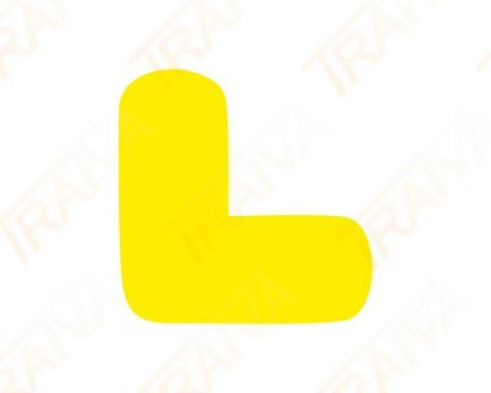 Podlahové značení pro místa na palety - tvar L
