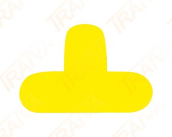 Podlahové značení pro místa na palety - tvar T