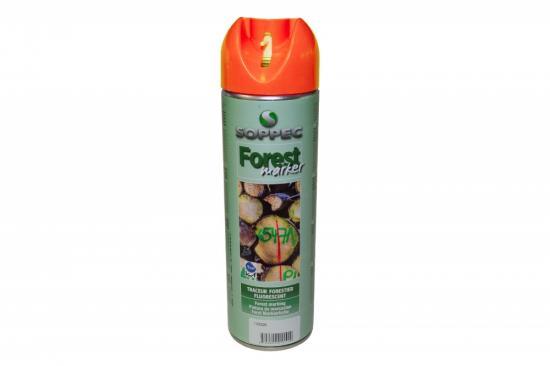 Lesnický značkovací sprej Forest Marker Soppec oranžový 500ml