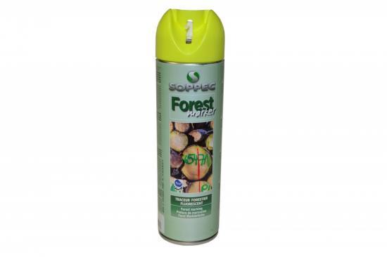 Lesnický značkovací sprej Forest Marker Soppec žlutý 500ml