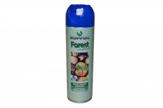 Lesnický značkovací sprej Forest Marker Soppec modrý 500ml